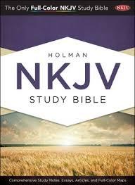 NKJV Holman Study Bible INDEXED