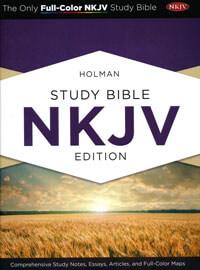 NKJV Holman Study Bible HC