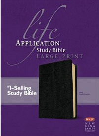 NKJV Life Application Study Bible Large Print
