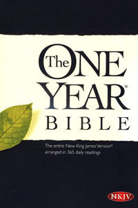 NKJV One Year Bible Paperback