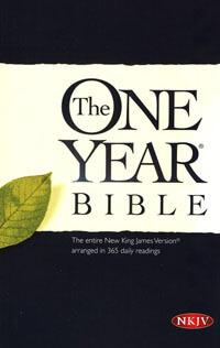 NKJV One Year Bible Paperback
