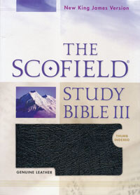 NKJV Scofield Study Bible III INDEXED