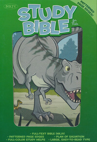 NKJV Study Bible For Kids Dinosaur