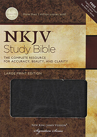 NKJV Nelson Study Bible 2nd Edition LARGE PRINT