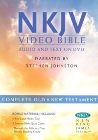 Audio Bible NKJV Video Bible Audio and Text on DVD OT & NT