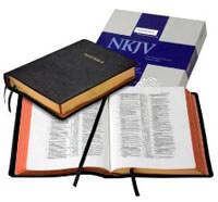 NKJV Wide Margin Reference Cambridge