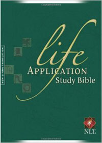 NLT Life Application Study Bible Hardcover