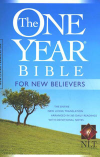 NLT One Year Bible for New Believers PB