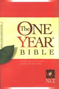NLT One Year Bible Paperback