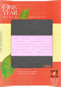 NLT One Year Bible Slimline Edition