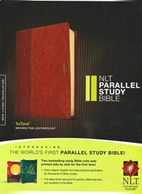 NLT Parallel Study Bible Brown/Tan