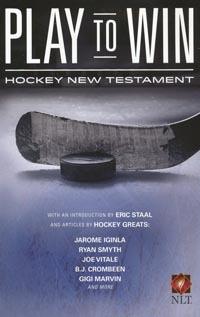 NLT Play To Win Hockey New Testment