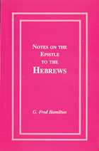 Notes on the Epistle to the Hebrews
