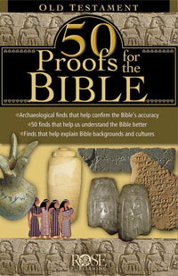 Pamphlet: 50 Proofs for the Bible OT