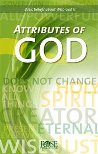 Pamphlet: Attributes of God