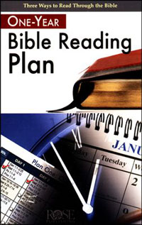 Pamphlet: One Year Bible Reading Plan