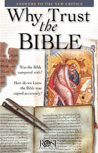 Pamphlet: Why Trust The Bible?