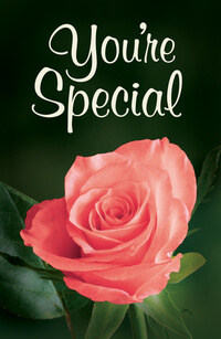 Tract: Youre Special 25th Anniversary Ed. KJV (pkg 25)