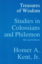 Treasures of Wisdom Colossians & Philemon