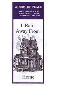 Tract: WOP I Ran Away from Home (100 pkg)