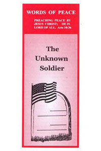 Tract: WOP Unknown Soldier, The (100 pkg)