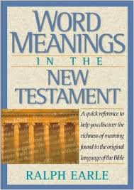 Word Meanings in the New Testament **