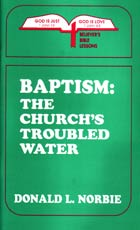 Baptism The Churchs Troubled Water  ECS