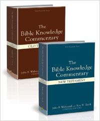Bible Knowledge Commentary Old & New Testament 2 Volumes Set