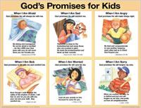 Chart: Gods Promises for Kids NIV (Laminated)
