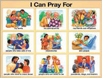 Chart: I Can Pray For (Laminated)