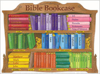 Chart: Bible Bookcase (Laminated)