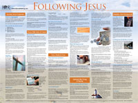 Chart: Following Jesus (Laminated)