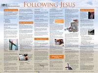 Chart: Following Jesus (Laminated)
