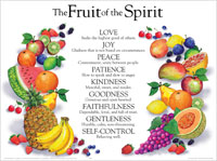 Chart: Fruit of the Spirit, The (Laminated)