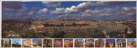 Chart: Jerusalem Panorama (Laminated)