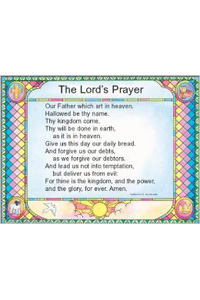 Chart: Lords Prayer / Debts, The (Laminated)