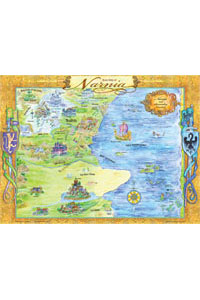 Chart: Rose Map of Narnia (Laminated)