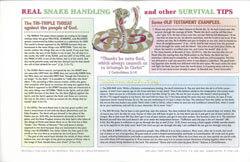 Chart Real Snake Handling