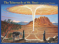 Chart: Tabernacle at Mt. Sinai LAMINATED