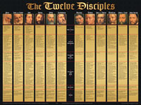 Chart: Twelve Disciples, The (Laminated)