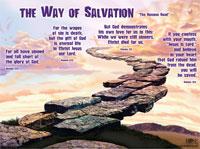 Chart: Way of Salvation (laminated)