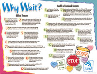 Chart: Why Wait? (Laminated)
