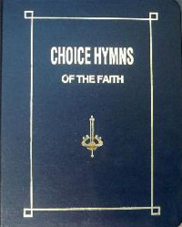 Hymnbook: Choice Hymns of the Faith (lrg prnt) ECS