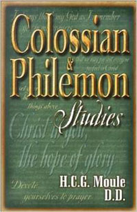 Colossian & Philemon Studies