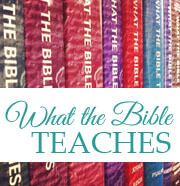 What the Bible Teaches Commentaries (Ritchie)