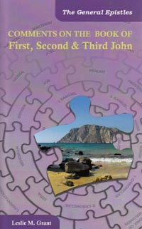 Comments On The Book OF First Second & Third John