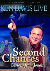DVD Ken Davis Live: Second Chances (Lessons from Jonah)