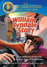 DVD Torchlighters William Tyndale Story