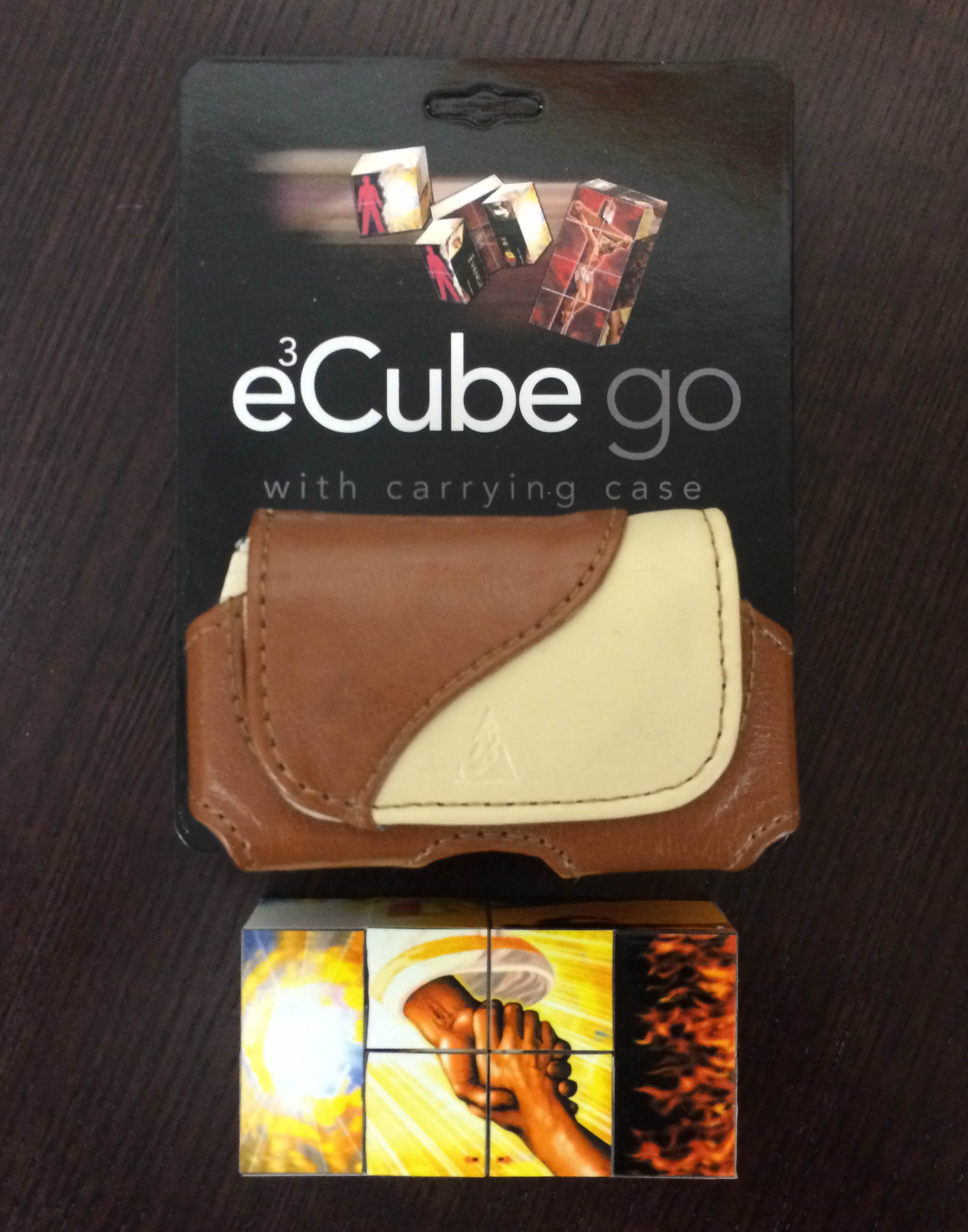 EvangeCube Go -Brown/Tan