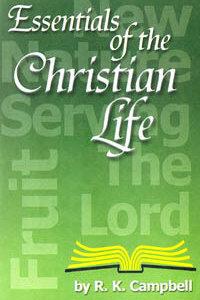 Essentials of Christian Life